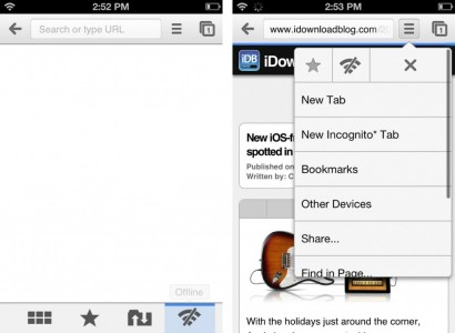 WebOffline for Chrome 1024x751 410x300 Cydia: WebOffline aggiunge la modalità offline a Chrome su iOS Tweak iOS Chrome