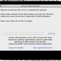 Il jailbreak per iPhone 4S e iPad 2 ha un nome: ecco a voi Absinthe (download)