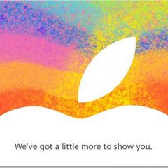 Ufficiale: evento Apple fissato per il 23 ottobre, in arrivo il mini iPad