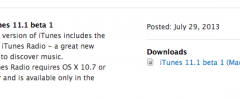iTunes 11.1 beta, ora con iRadio
