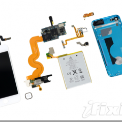 iFixit mette a nudo il nuovo iPod touch 5^ gen