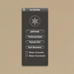 Ac1dSn0w: altro tool per effettuare jailbreak (tethered) su iOS 5
