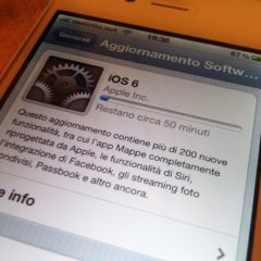 Disponibile la versione finale di iOS 6 (con links per il download diretto).