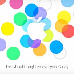 Evento Apple il 10 settembre incentrato su iPhone 5S/5C(?)