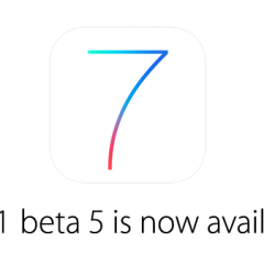 Apple rilascia iOS 7.1 beta 5