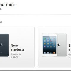 iPad e iPad mini: al via i preordini