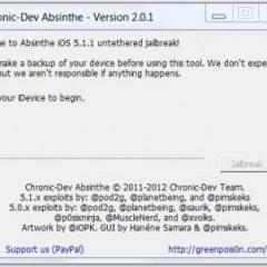 Eseguire Jailbreak 5.1.1 su iPhone e iPad con Absinthe su Mac/Linux/Windows
