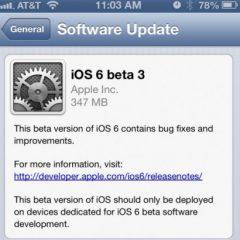 Apple: disponibile la beta 3 di iOS 6