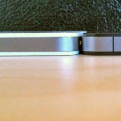 L'iPhone Bianco è più spesso del modello Black