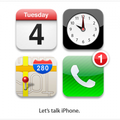 Keynote Apple tra iOS5, iPod Touch, Nano, iPhone 4S..e Siri.